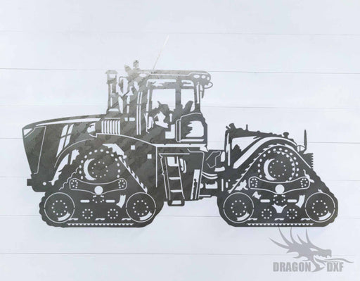 Tractor Design 1 - DXF Download