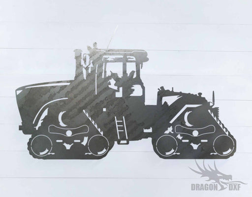 Tractor Design 2 - DXF Download