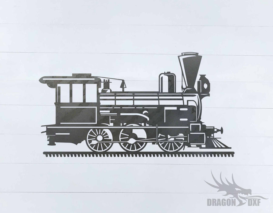 Train design 4 - DXF Download