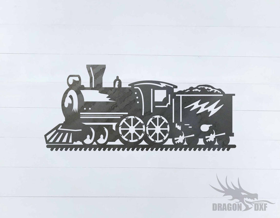 Train design 6 - DXF Download