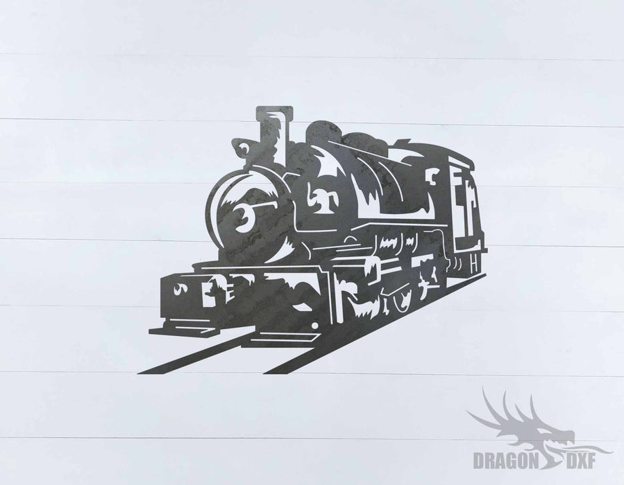 Train design 8 - DXF Download