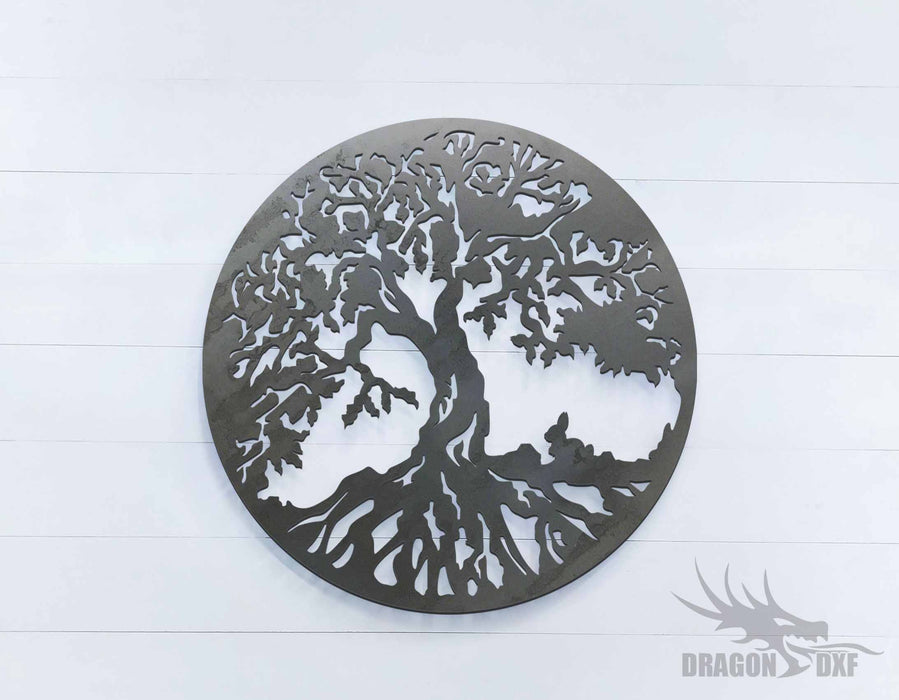 Tree of Life 2 - Round - DXF Download