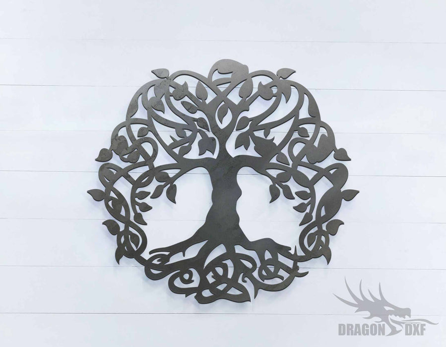 Tree of Life 3 - Round - DXF Download