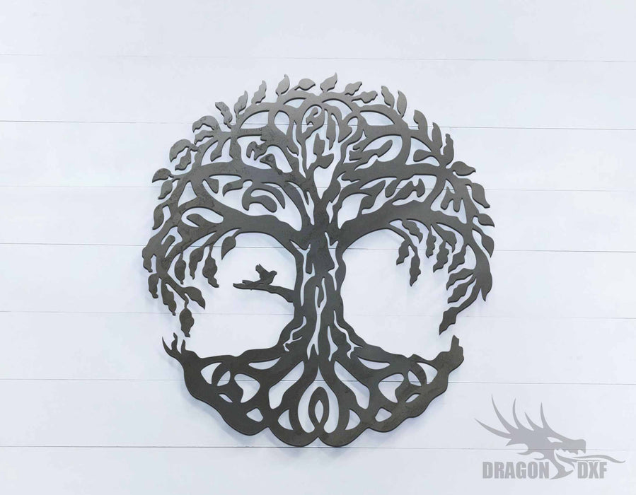 Tree of Life 4 - Round - DXF Download