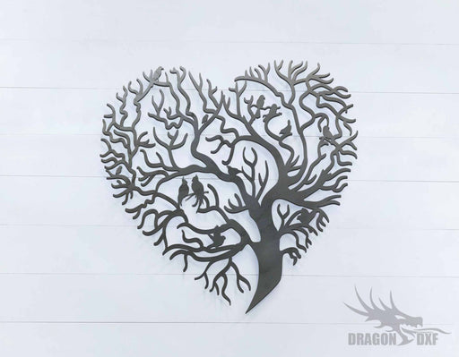 Tree of Life  - Heart - DXF Download