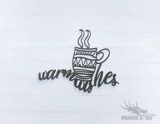 Warmwishes Sign - DXF Download