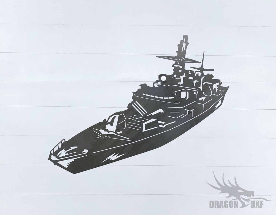 Warship Design 11 - DXF Download