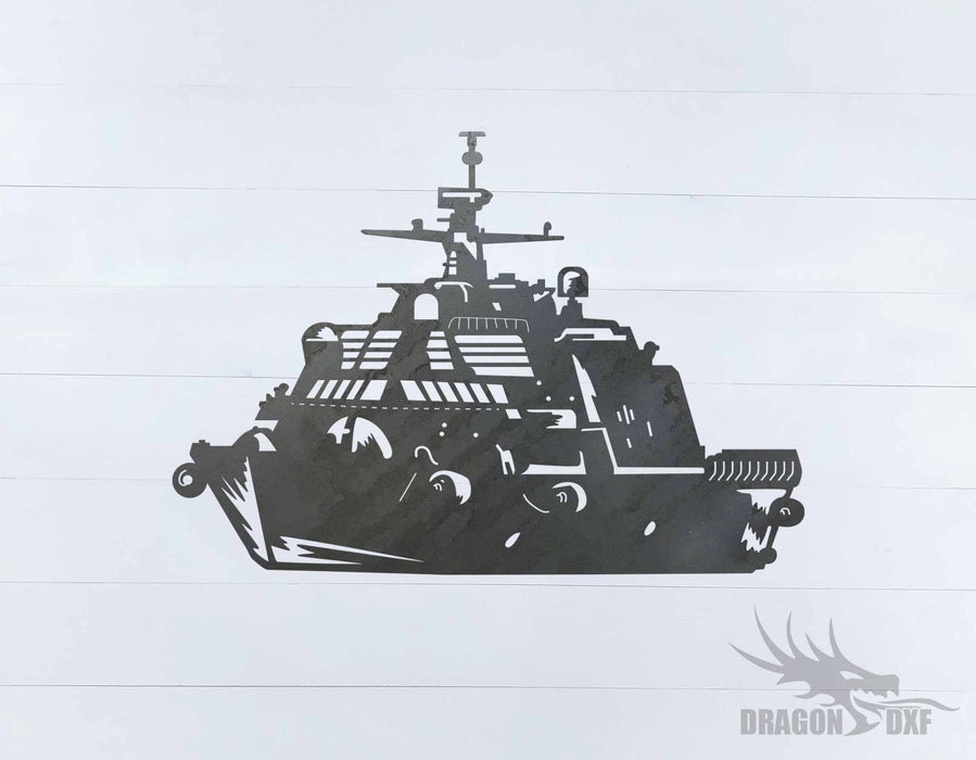 Warship Design 15 - DXF Download