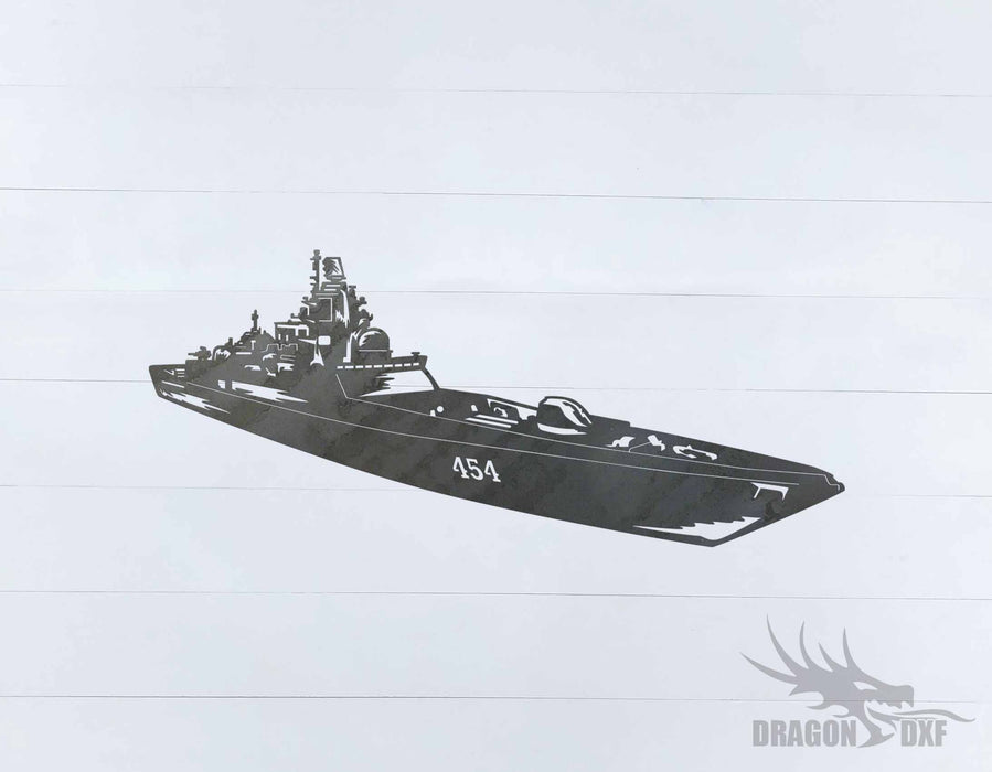 Warship Design 2 - DXF Download