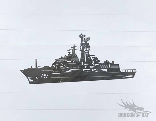 Warship Design 4 - DXF Download