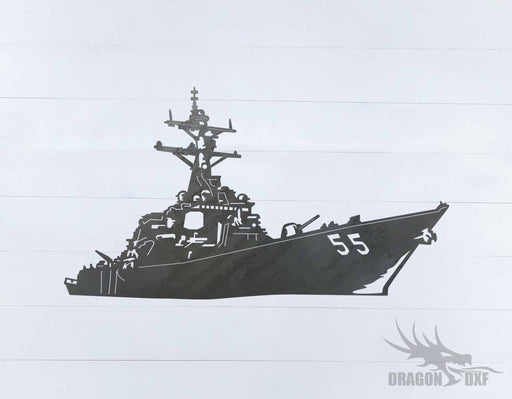 Warship Design 6 - DXF Download