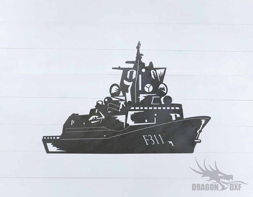 Warship Design 7 - DXF Download