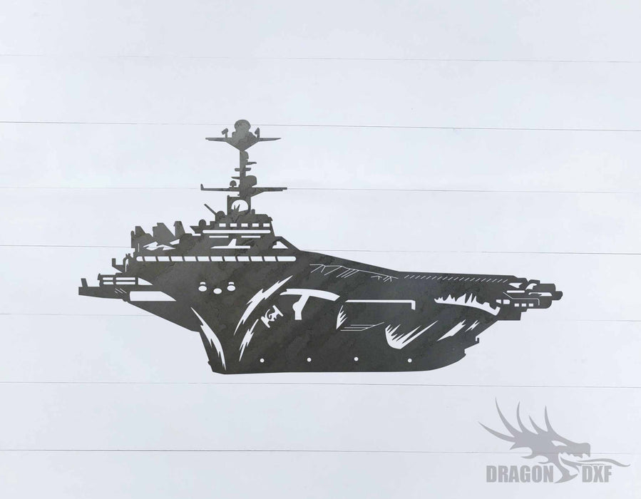 Warship Design 8 - DXF Download