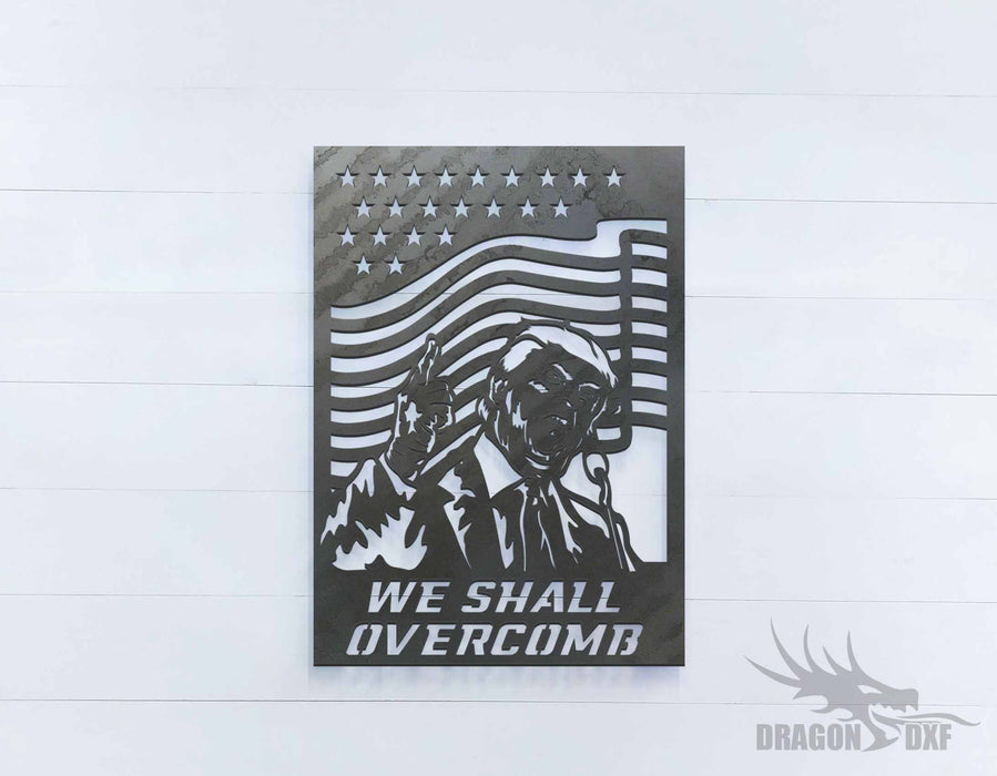 We Shall Overcomb 1 - DXF Download