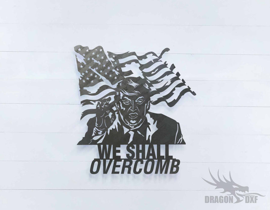 We Shall Overcomb 3 - DXF Download