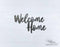 Welcome Home Design 1 - DXF Download
