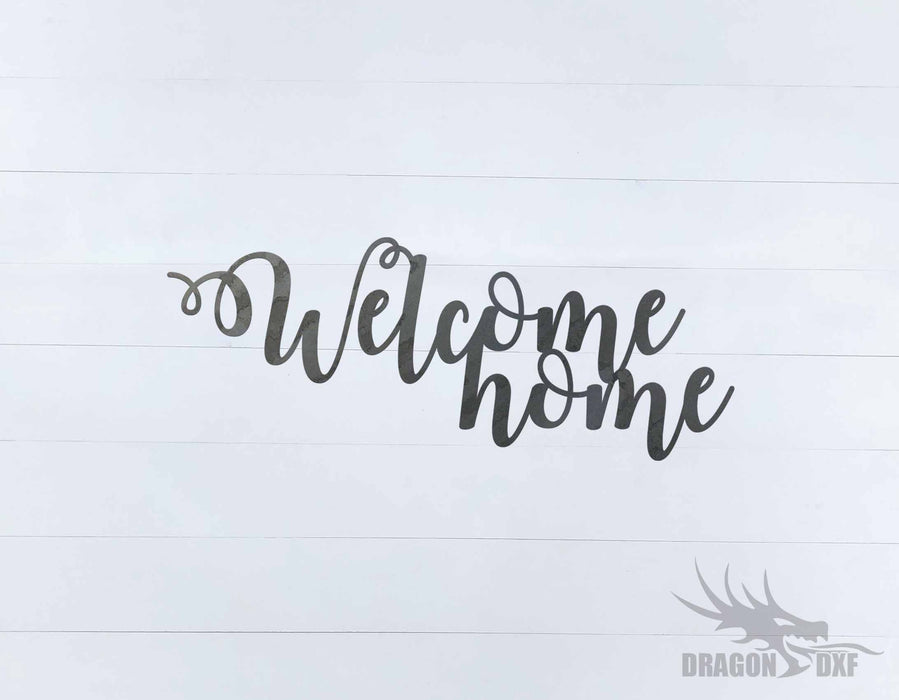 Welcome Home Design 3 - DXF Download