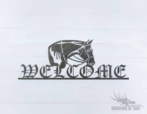 Welcome Sign 26 - DXF Download