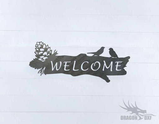 Welcome Sign 38 - DXF Download
