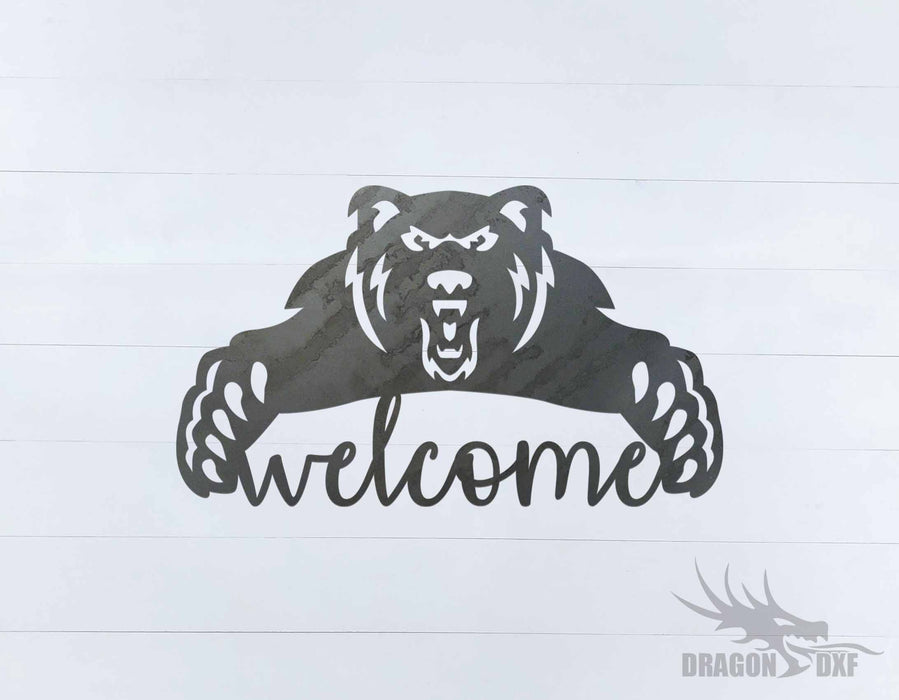 Welcome Sign 48 - DXF Download