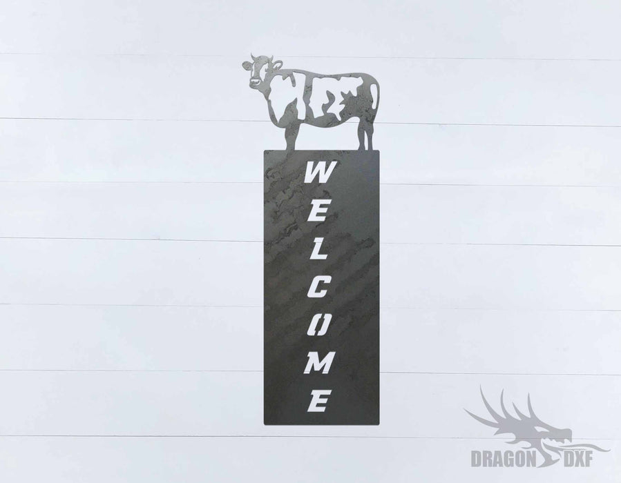 Welcome Sign 56 - DXF Download