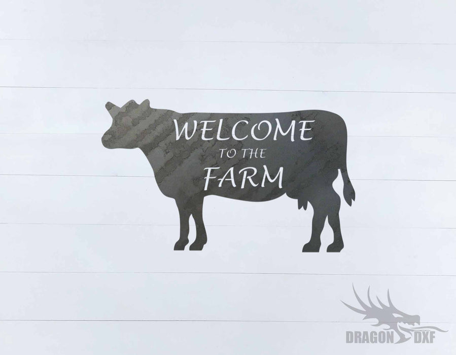 Welcome Sign 59 - DXF Download