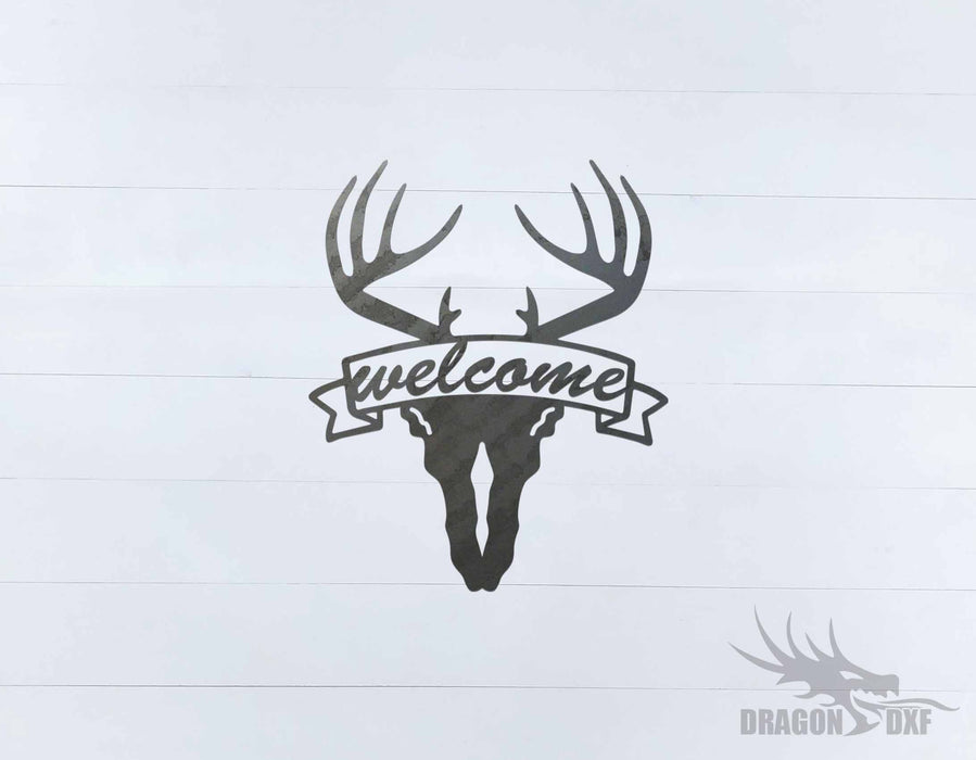 Welcome Sign 76 - DXF Download