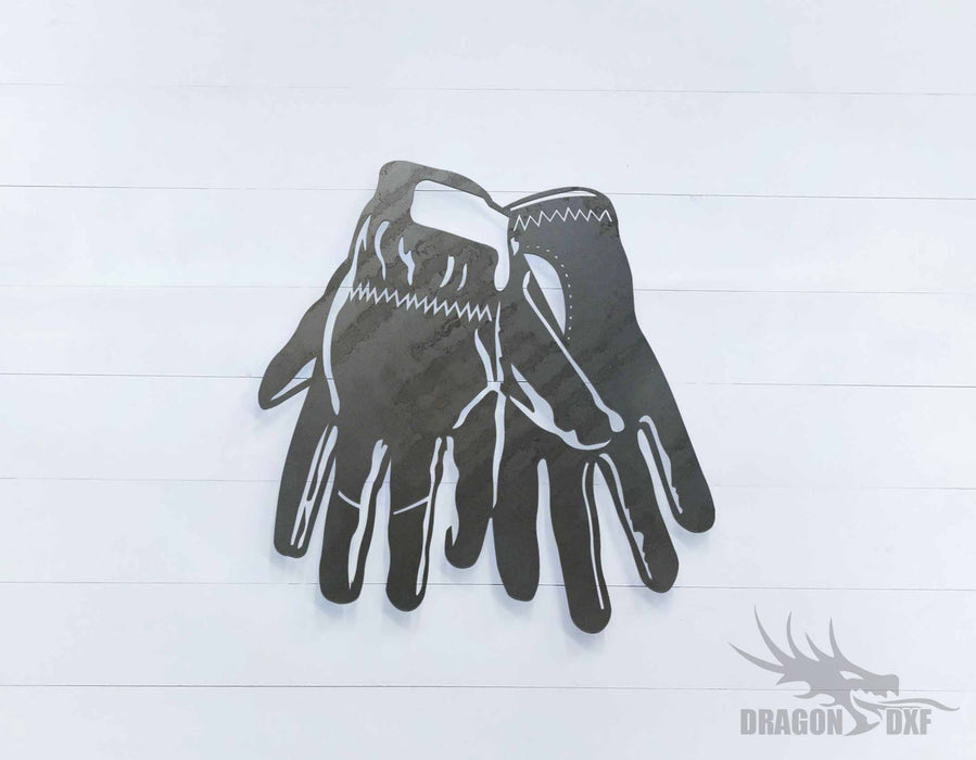 Welding Gloves 3 - DXF Download
