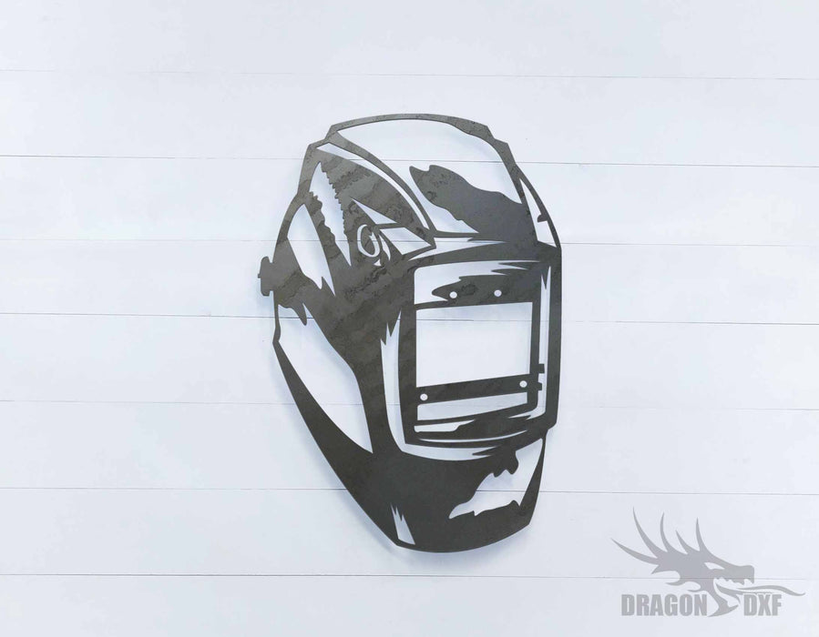 Welding Helmet 4 - DXF Download