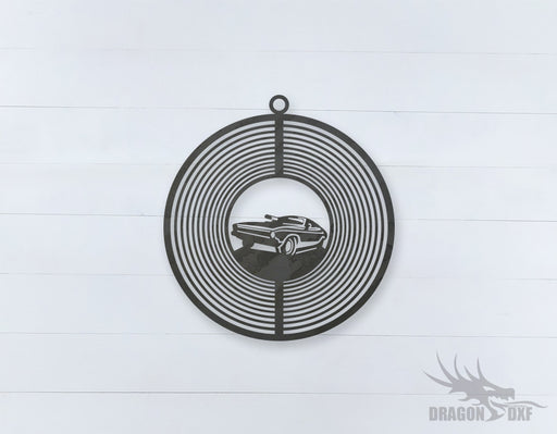 Wind Spinner Design 10 - DXF Download