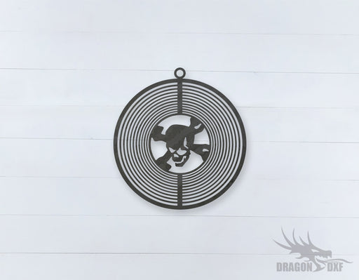 Wind Spinner Design 2 - DXF Download