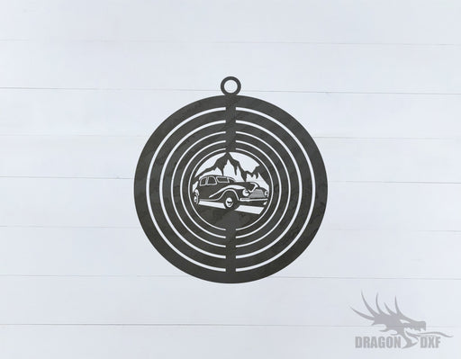 Wind Spinner Design 6 - DXF Download