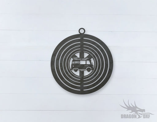 Wind Spinner Design 8 - DXF Download