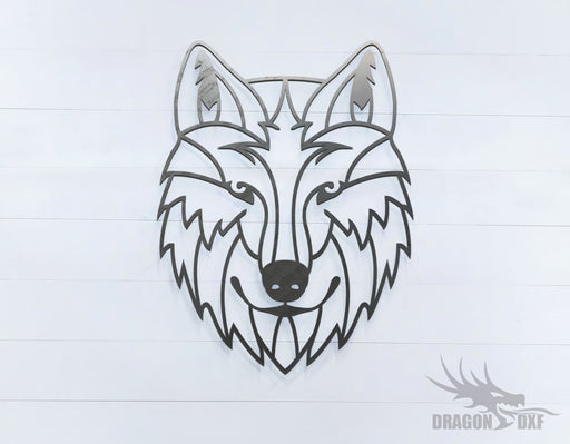 Wolf - Geometric - Deco - Animals -  DXF Download
