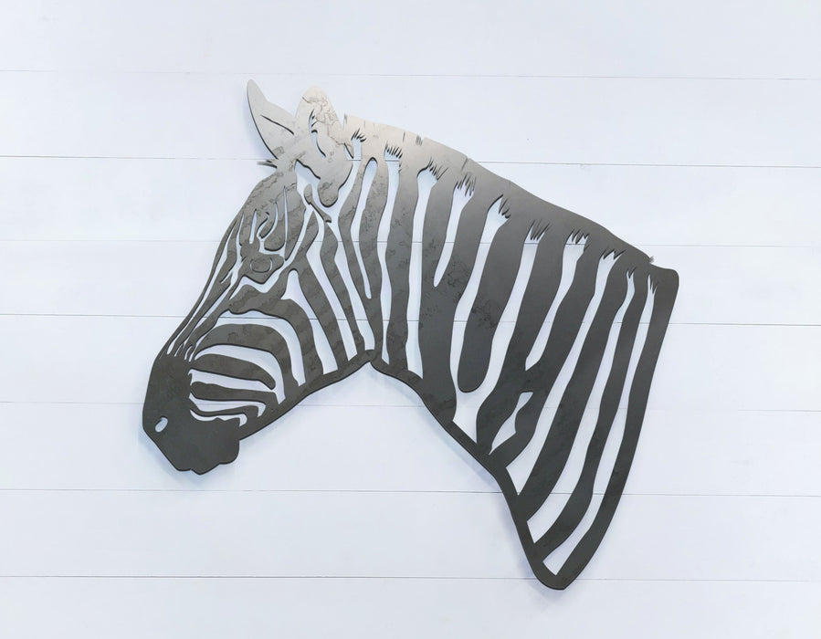 Zebra facing left - Zoo Animals -  DXF Download