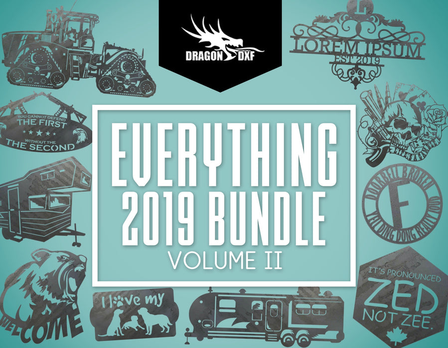 Everything 2019 Bundle Volume II - DXF Download