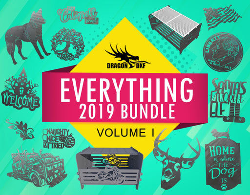 Everything 2019 Bundle Volume I - DXF Download