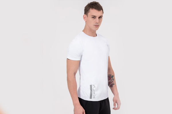 NITE RIDER Nano-sweat T-Shirt in white