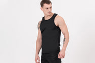 STUD2 Nano-Sweat Tank Top in Black