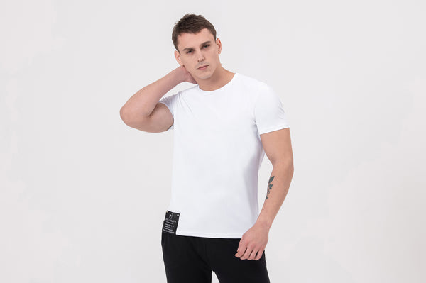 CAPTAIN KIRK Nano-sweat T-Shirt in white