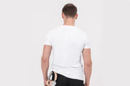 VOYAGER Nano-sweat T-Shirt in white