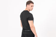 STUD3 Nano-Sweat T-shirt in Black