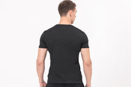POCKET Nano-Sweat Short Sleeve T-shirt in Black