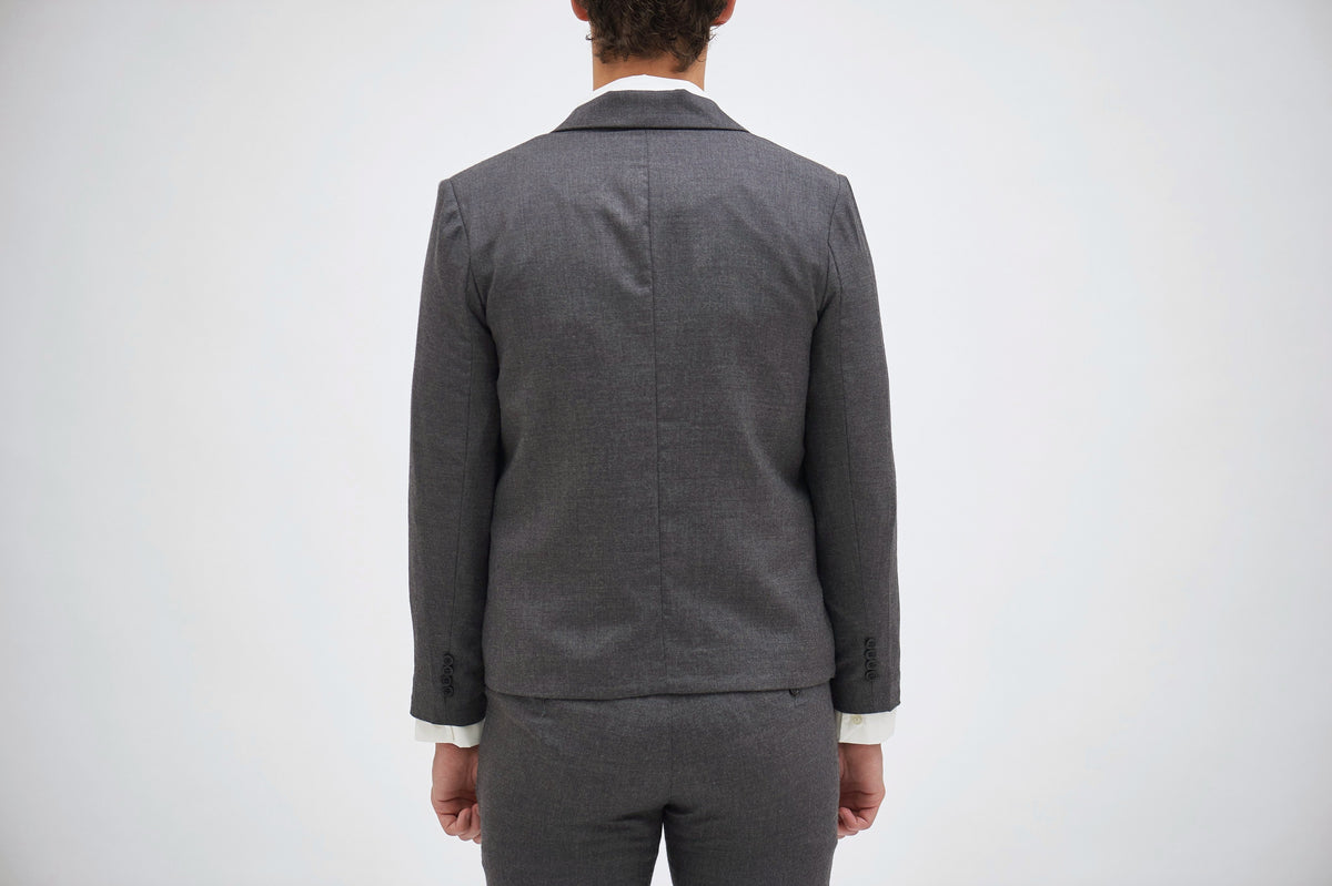CLASSIC slim-fit, breathable, stretchable blazer in Grey