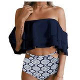 Off the Shoulder Classic Bathing Suit