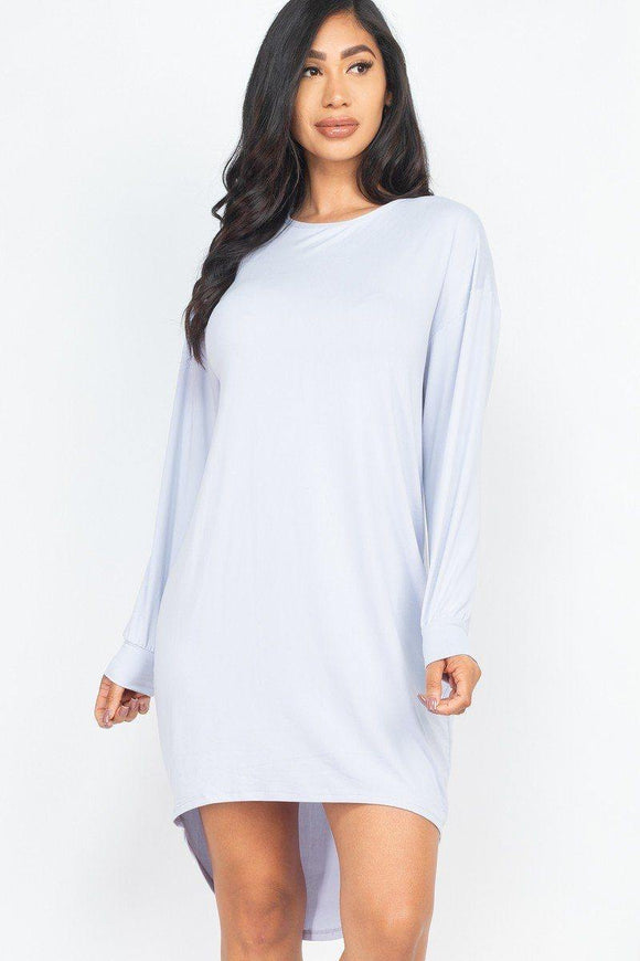 The coziest High Low Dress