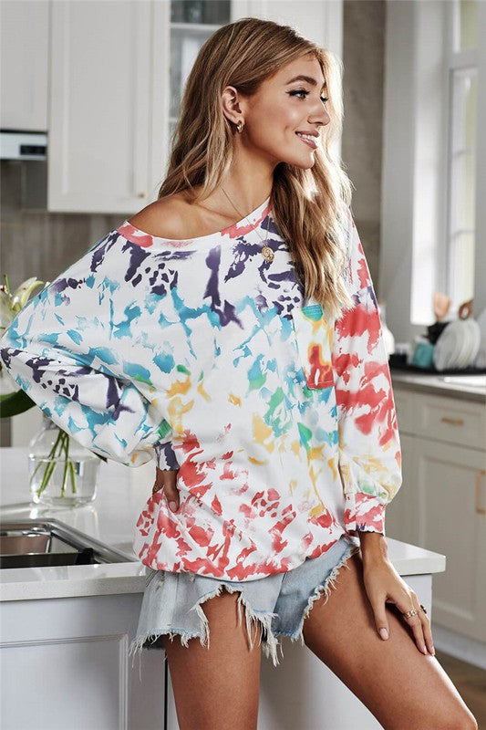 The Big Chill Tie Dye Sweatshirt