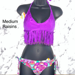 Raisins Reversible Bikini Medium Puple