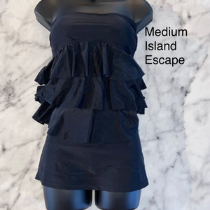 Island Escape Tankini Medium
