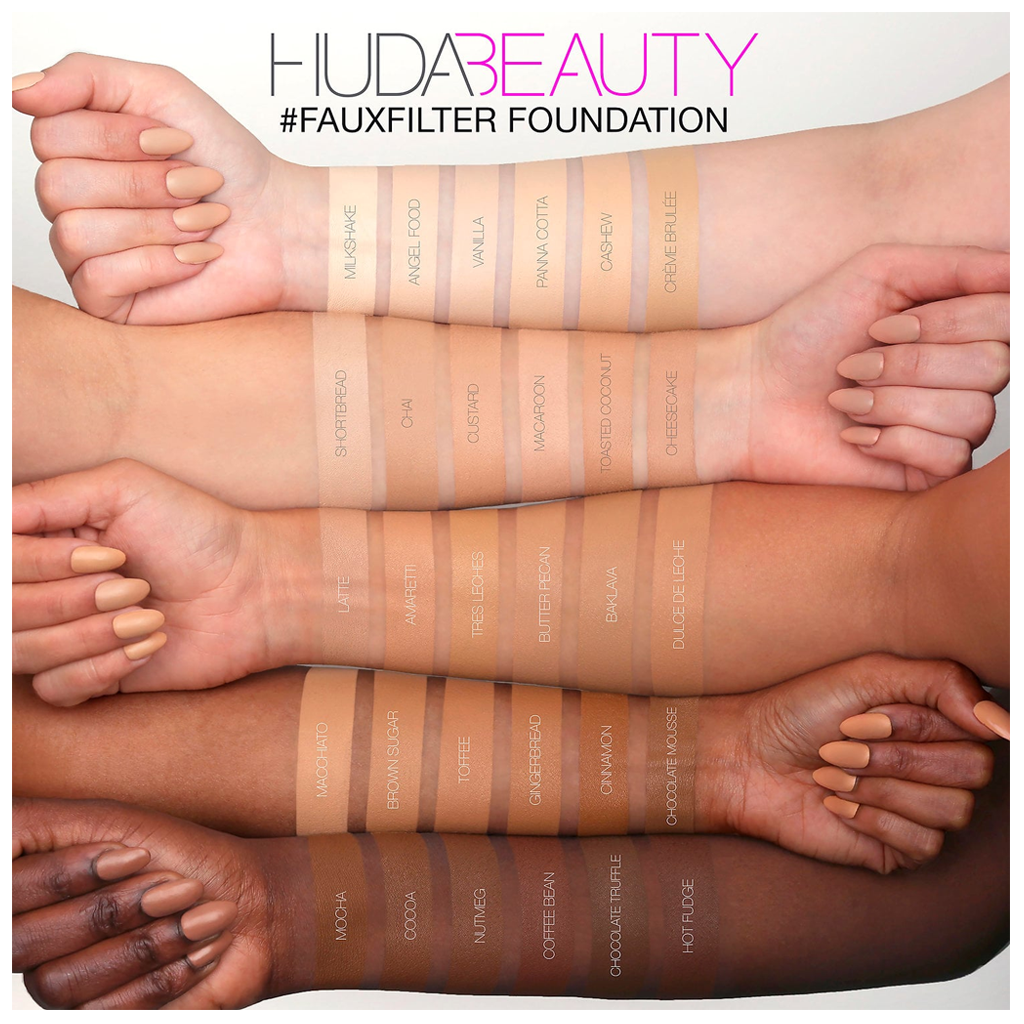 HUDA BEAUTY - FAUXFILTER FOUNDATION (TOASTED COCONUT 240N)